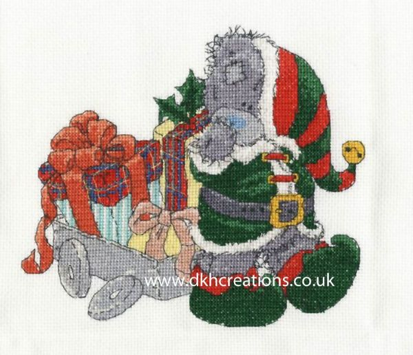 Me To You Tatty Teddy Delivering Christmas Gifts Cross Stitch Kit